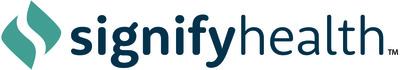 Signify Health logo (PRNewsfoto/Signify Health)