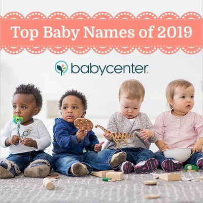 BabyCenter® Reveals Top Baby Names Of 2019