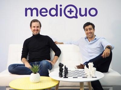Guillem Serra (left) and Bruno Cuevas (right)
