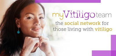 MyVitiligoTeam is a social network just for people with vitiligo.